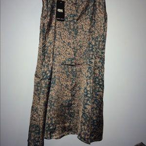 Naked Zebra Dresses - Naked Zebra Slip Dress missing belt
